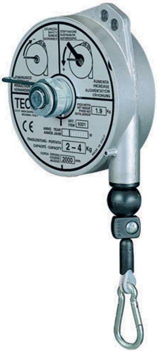 Equilibreur coprs aluminium course  2000mm 9320-9321-9322