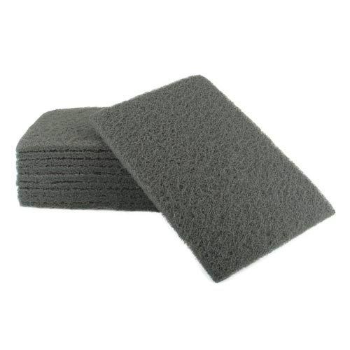 Tampon abrasif Gris 152x229mm - x10 ABG