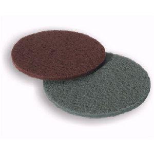 Disque nylon abrasif fibre synthétique ø150mm - Grain 320 et 800 - x 10 ABRG