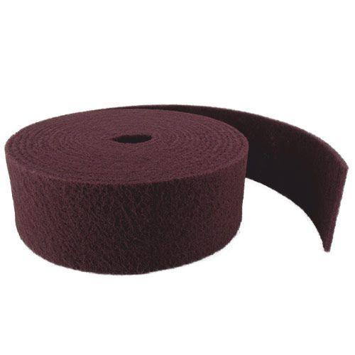 Roul. fibre abrasives Rouge 10M x 100mm ABR10