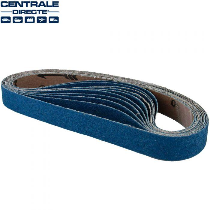 Bande pour lime pneumatique 20 x 520 mm G120 - x10 BAP27