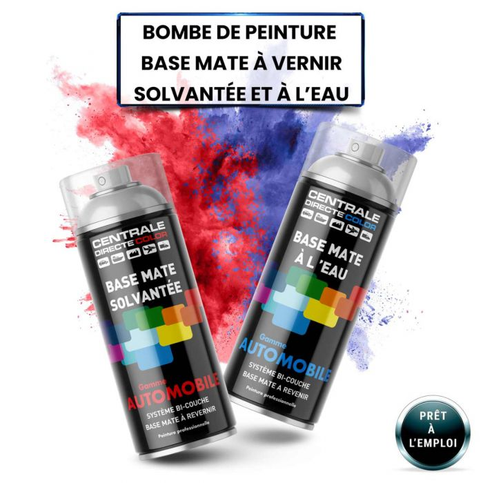 Bombe de peinture base à vernir CDCSMAS