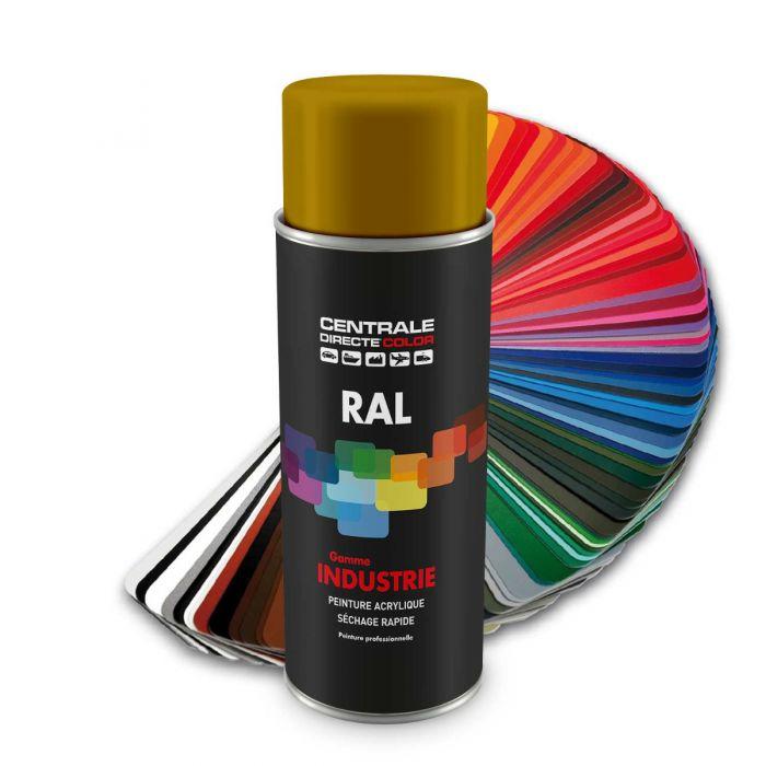 Peinture en spray RAL 1005 Jaune miel Brillant CDCRAL1005B