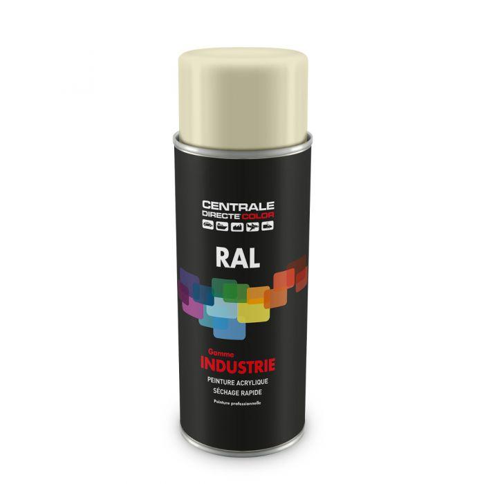 Peinture en spray RAL 1013 Blanc perlé Brillant CDCRAL1013B