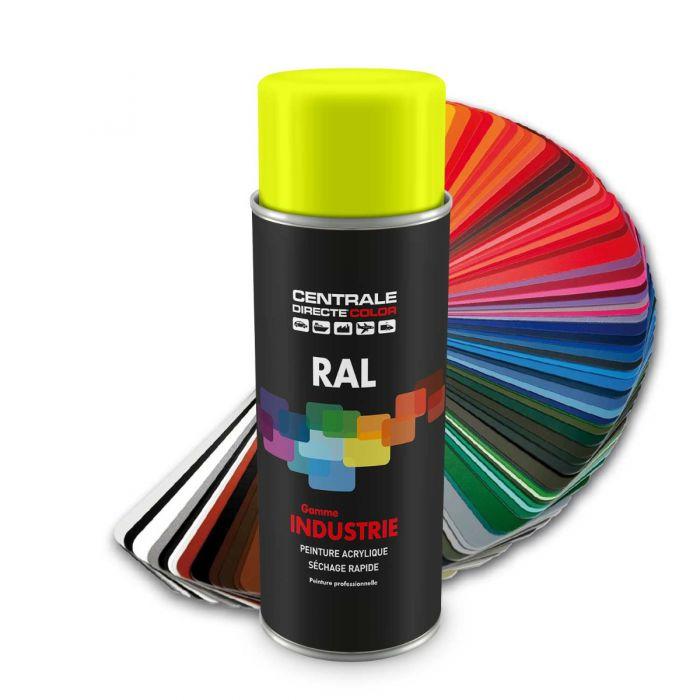 Peinture en spray RAL 1016  Jaune soufre CDCRAL1016B