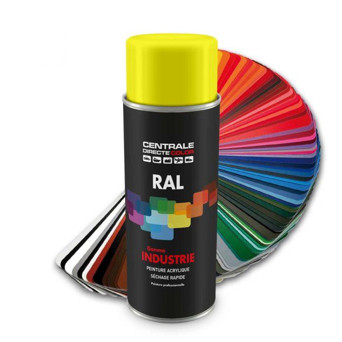 Peinture en spray RAL 1018 Jaune zinc Brillant CDCRAL1018B