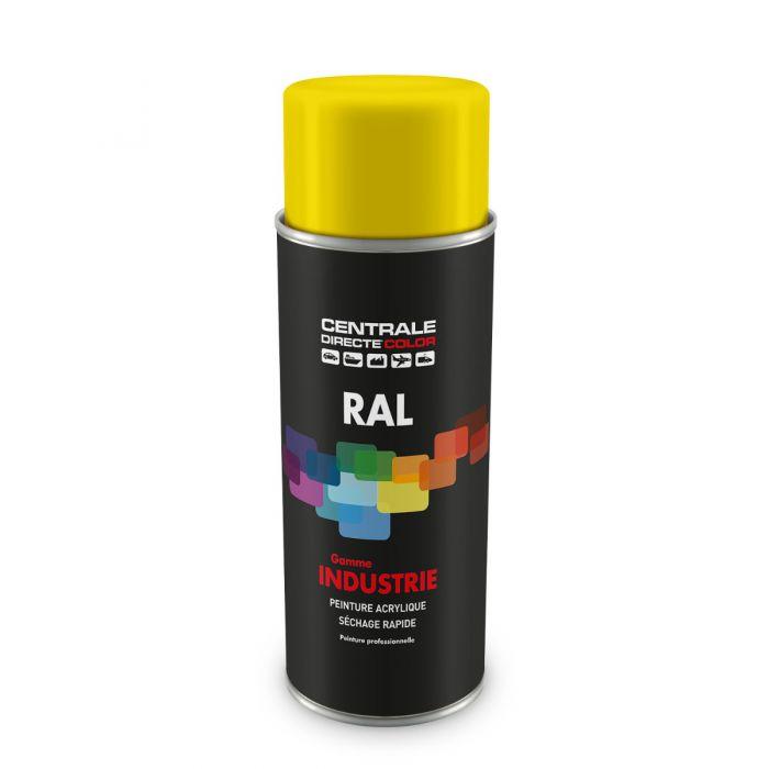 Peinture en spray RAL 1021 Jaune colza Mat CDCRAL1021M