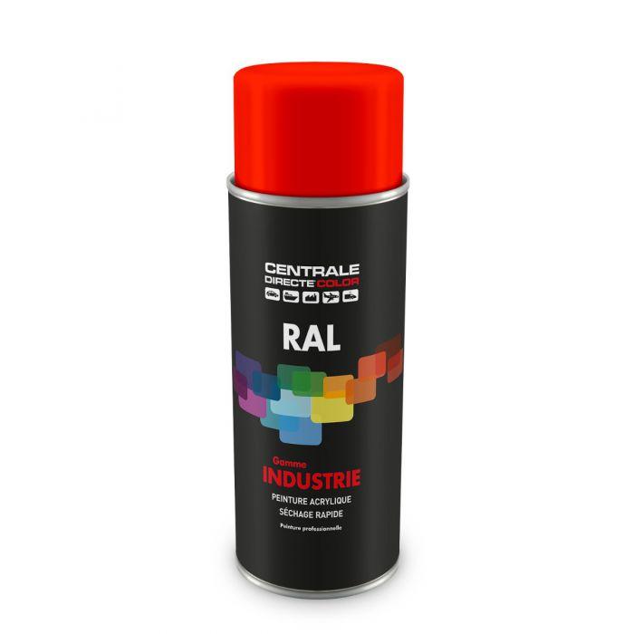 Peinture en spray RAL 2008  Orangé rouge clair Brillant CDCRAL2008B