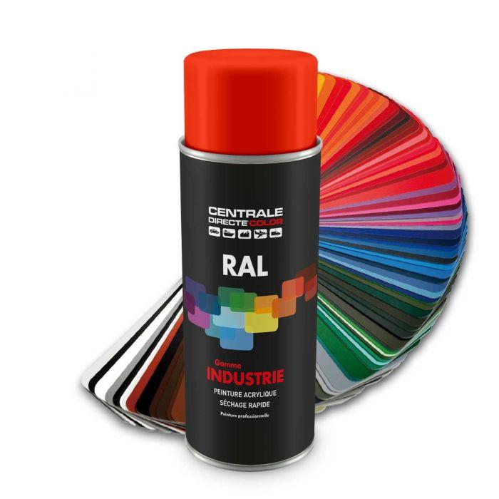 Peinture en spray RAL 2009 Orangé signalisation Brillant CDCRAL2009B
