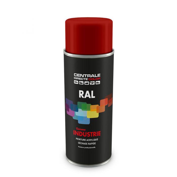 Peinture en spray RAL 3001 Rouge de sécurité Brillant CDCRAL3001B