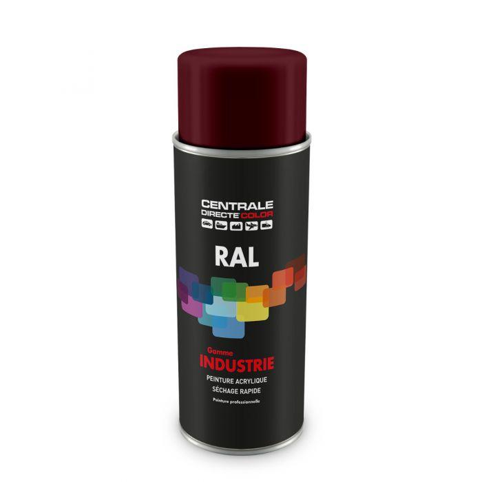 Peinture en spray RAL 3005 Rouge vin Brillant CDCRAL3005B