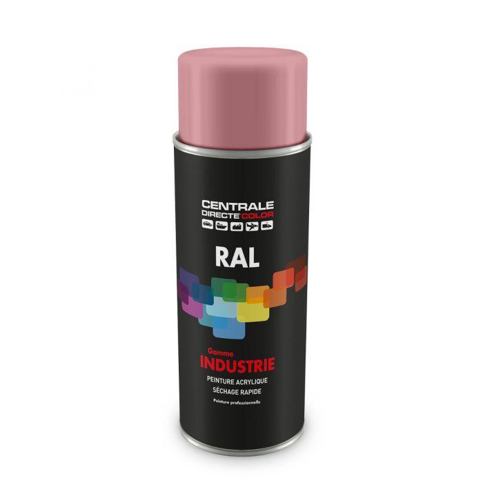Peinture en spray RAL 3015 Rose clair Brillant CDCRAL3015B
