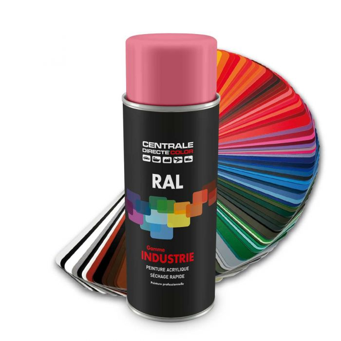 Peinture en spray RAL 3020 Rouge signalisation Brillant CDCRAL3020B