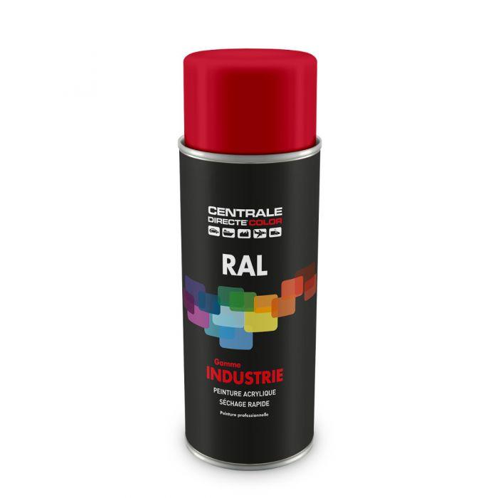 Peinture en spray RAL 3027 Rouge framboise Brillant CDCRAL3027B