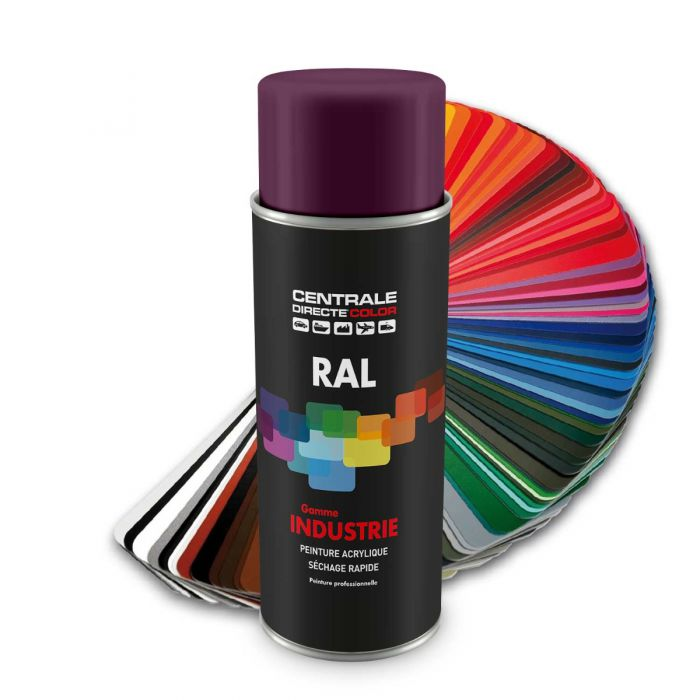 Peinture en spray RAL 4001 Lilas rouge Brillant CDCRAL4001B