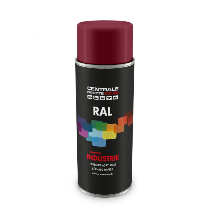 Peinture en spray RAL 4002 Violet rouge Brillant CDCRAL4002B