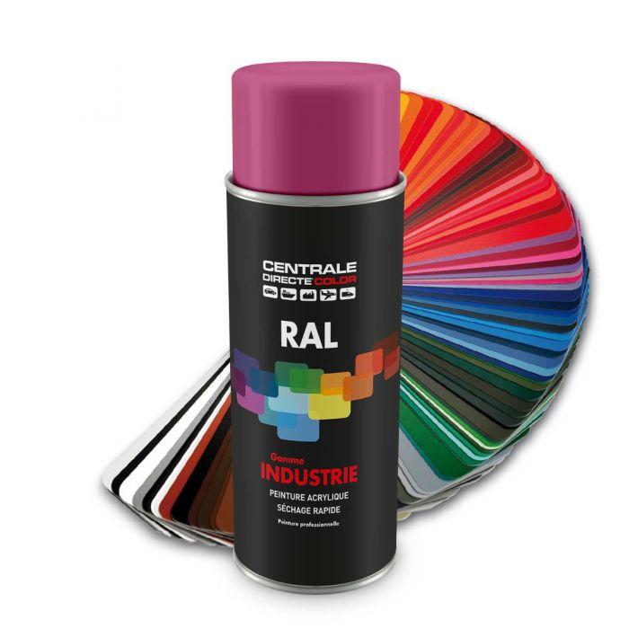 Peinture en spray RAL 4003 Violet bruyère Brillant CDCRAL4003B