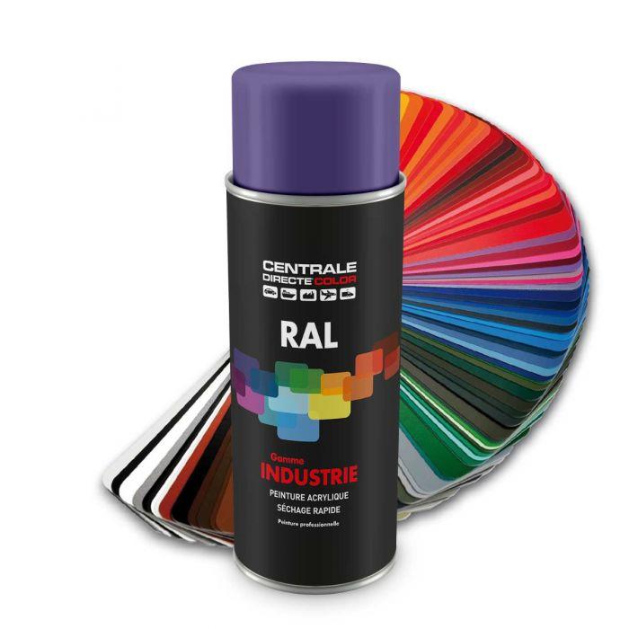 Peinture en spray RAL 4005 Lilas bleu Brillant CDCRAL4005B
