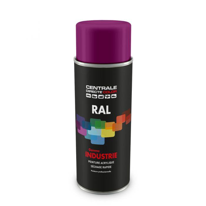 Peinture en spray RAL 4006 Pourpre signalisation Brillant CDCRAL4006B