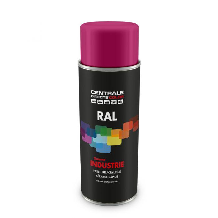 Peinture en spray RAL 4010 Telemagenta Brillant CDCRAL4010B
