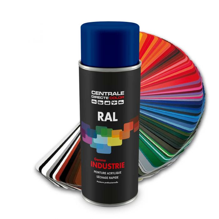 Peinture en spray RAL 5002 Bleu outremer Brillant CDCRAL5002B