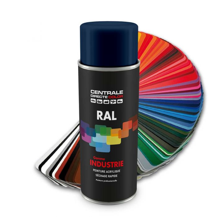 Peinture en spray RAL 5003 Bleu saphir Mat CDCRAL5003M