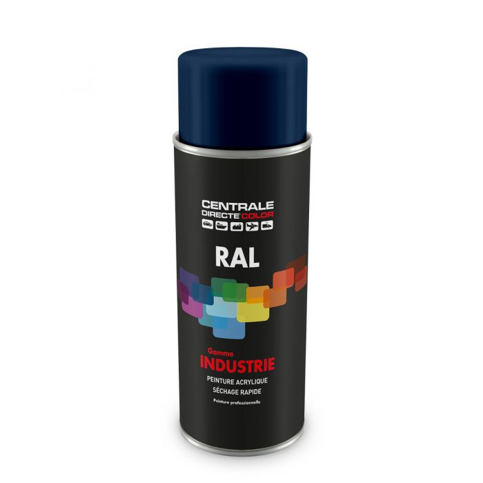 Peinture en spray RAL 5003 Bleu saphir Brillant CDCRAL5003B