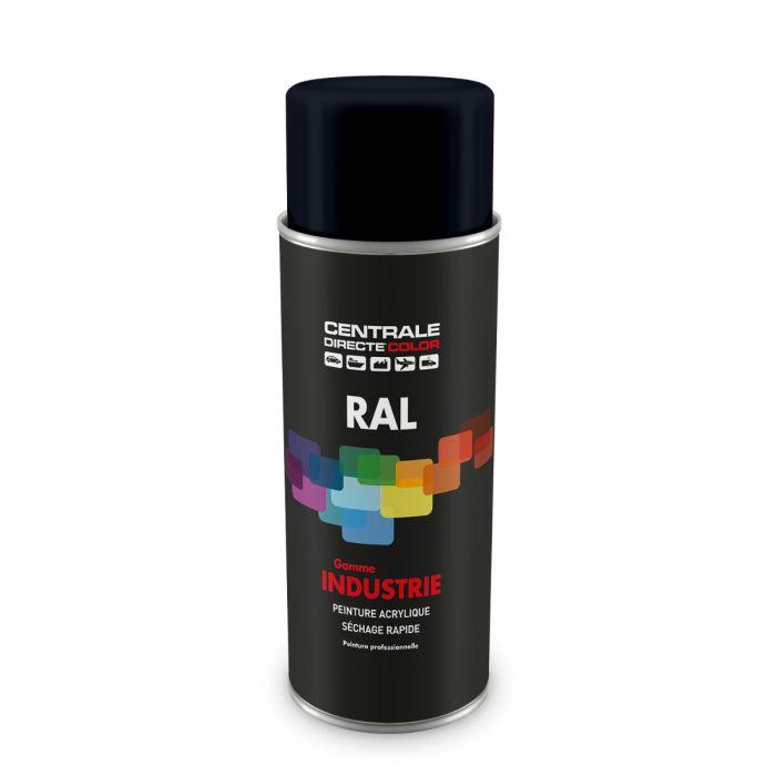Peinture en spray RAL 5004  Bleu noir Brillant CDCRAL5004B