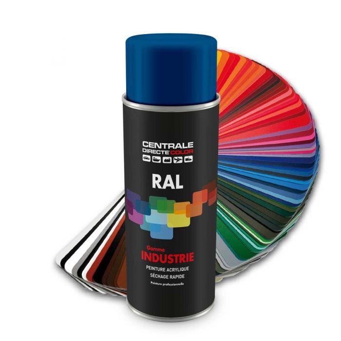 Peinture en spray RAL 5005 Bleu de sécurité Brillant CDCRAL5005B