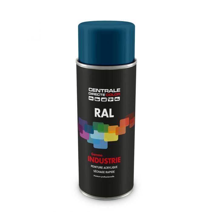 Peinture en spray RAL 5009 Bleu azur Brillant CDCRAL5009B