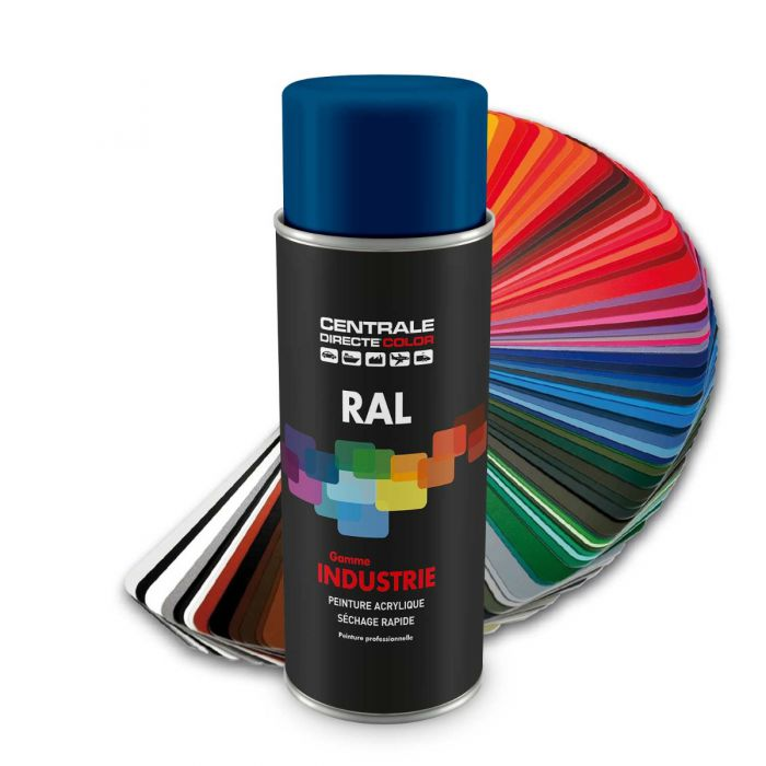Peinture en spray RAL 5010 Bleu gentiane Mat CDCRAL5010S