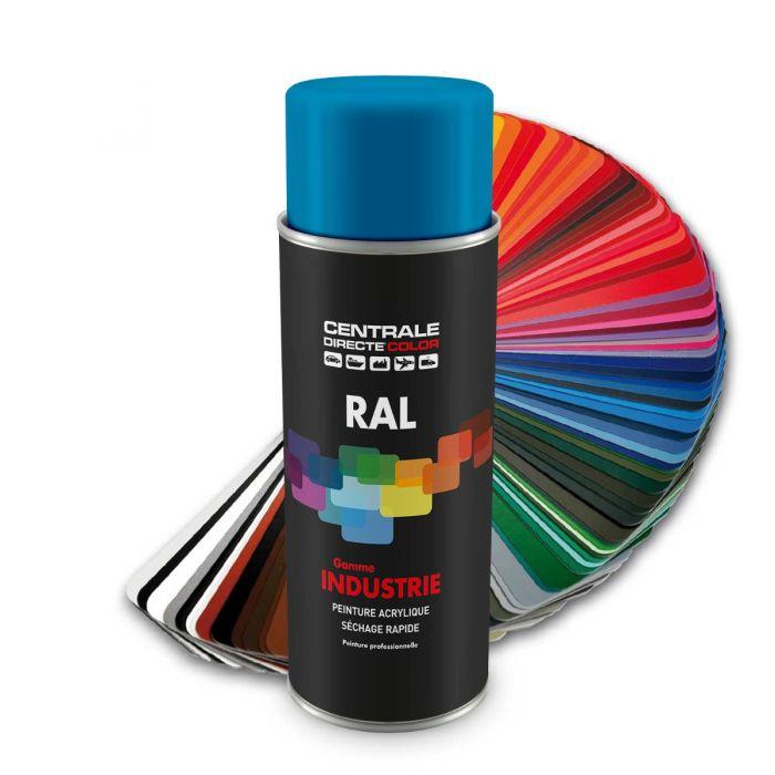 Peinture en spray RAL 5012 Bleu clair Brillant CDCRAL5012B