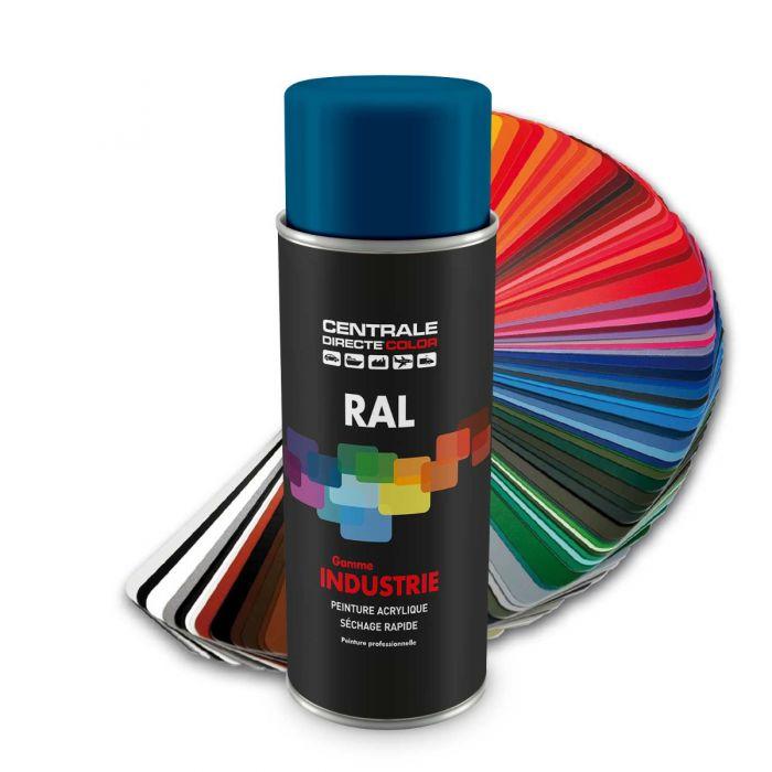 Peinture en spray RAL 5019  Bleu capri Brillant CDCRAL5019B