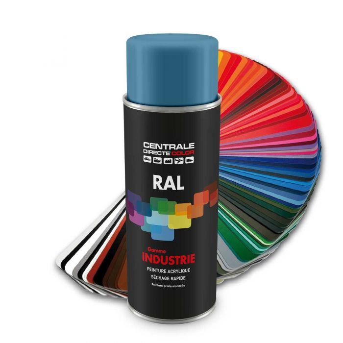 Peinture en spray RAL 5024 Bleu pastel Brillant CDCRAL5024B
