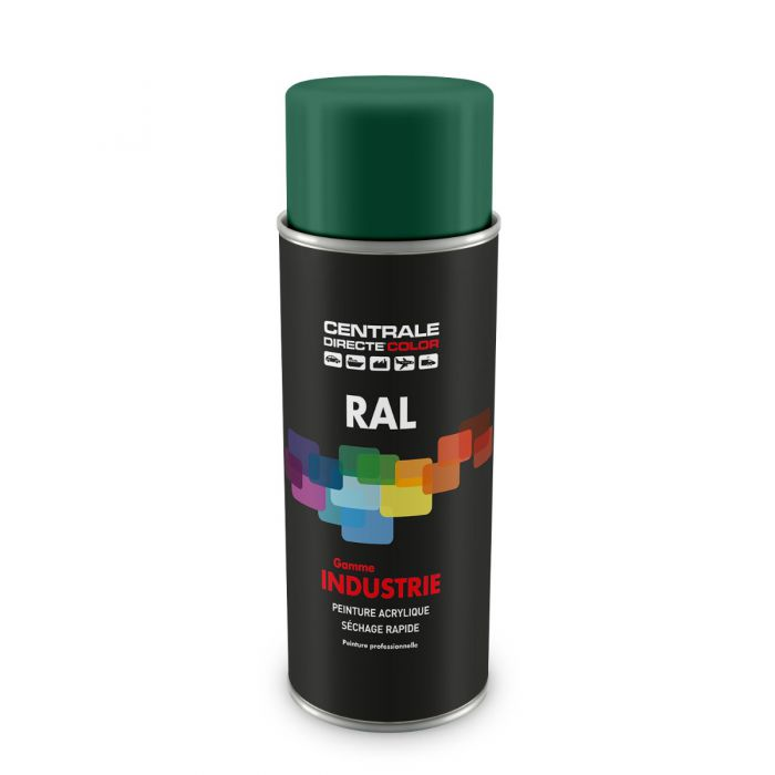Peinture en spray RAL 6000 Vert patine Brillant CDCRAL6000B