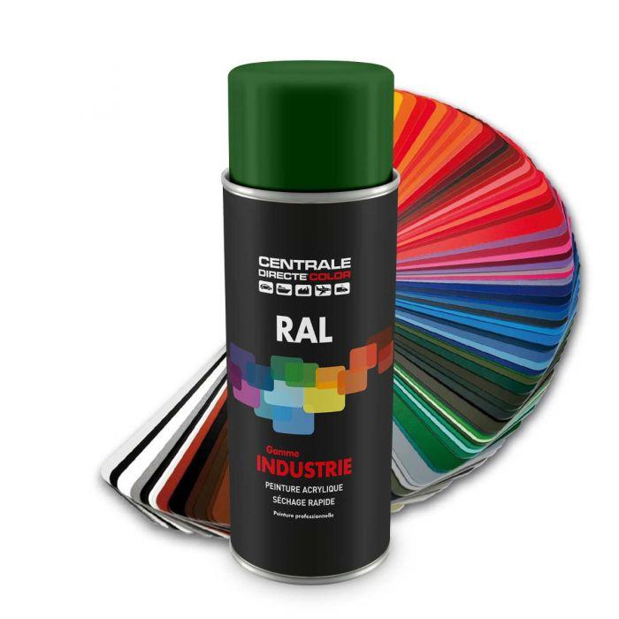 Peinture en spray RAL 6001 Vert émeraude Brillant CDCRAL6001B