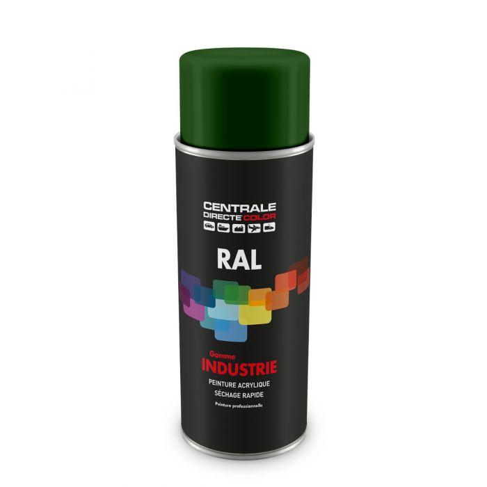 Peinture en spray RAL 6002 Vert feuillage Brillant CDCRAL6002B