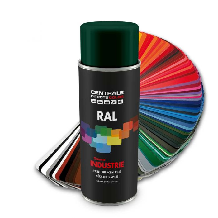 Peinture en spray RAL 6005  Vert mousse Brillant CDCRAL6005B