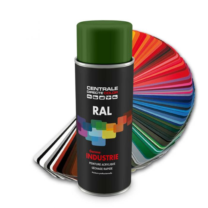 Peinture en spray RAL 6010 Vert herbe Brillant CDCRAL6010B