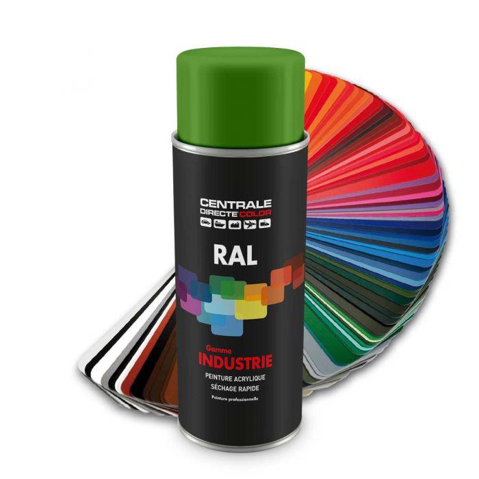 Peinture en spray RAL 6018 Vert jaune Brillant CDCRAL6018B
