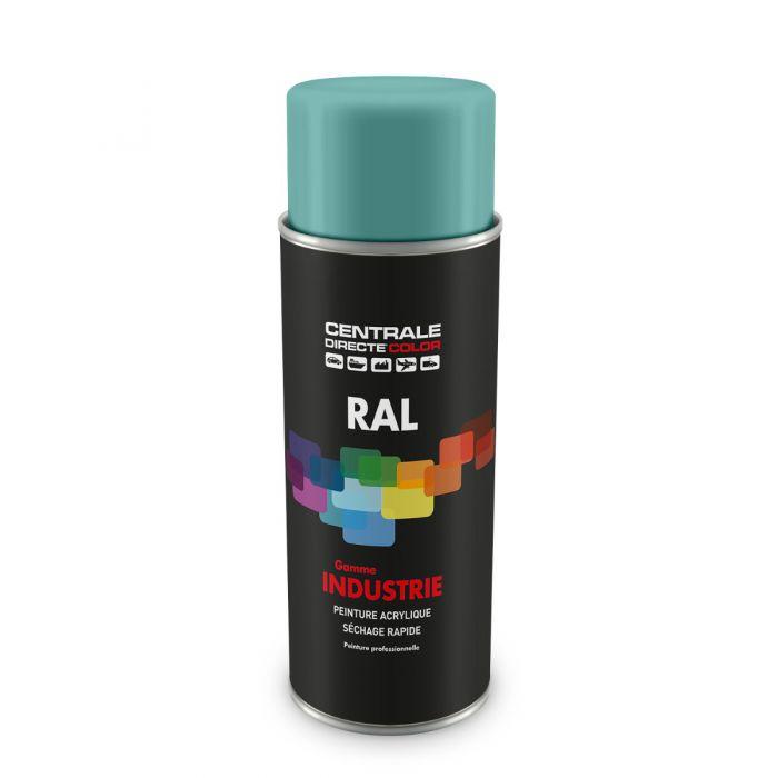 Peinture en spray RAL 6027 Vert clair Brillant CDCRAL6027B