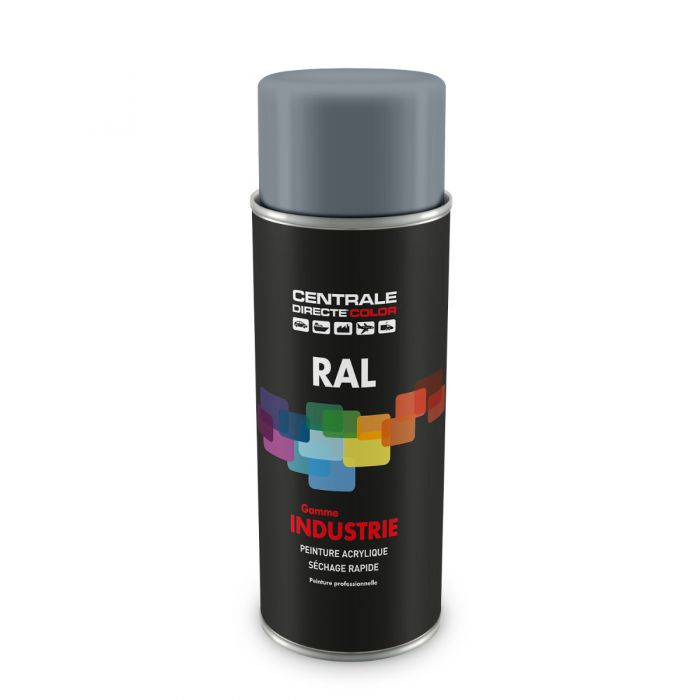 Peinture en spray RAL 7001 Gris argent Brillant CDCRAL7001B