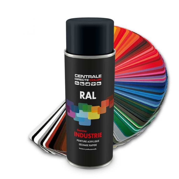 Bombe peinture Ral 7016 Gris anthracite CDCRAL7016B