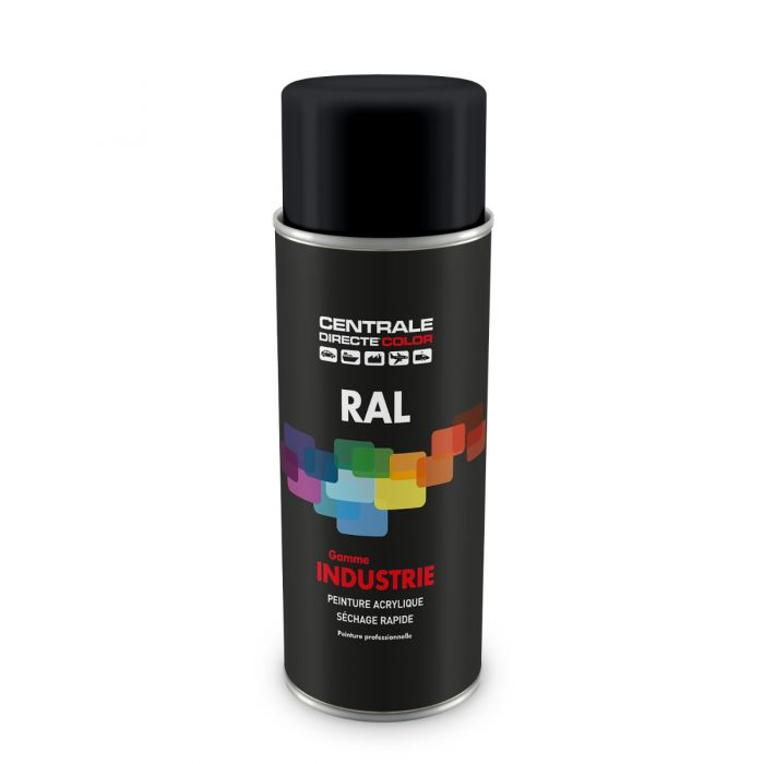 Peinture en spray RAL 7021 Gris noir Brillant CDCRAL7021B