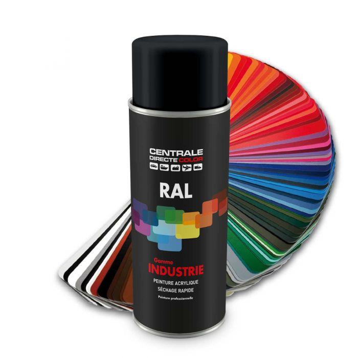 Peinture en spray RAL 7021 Gris noir Satiné CDCRAL7021S