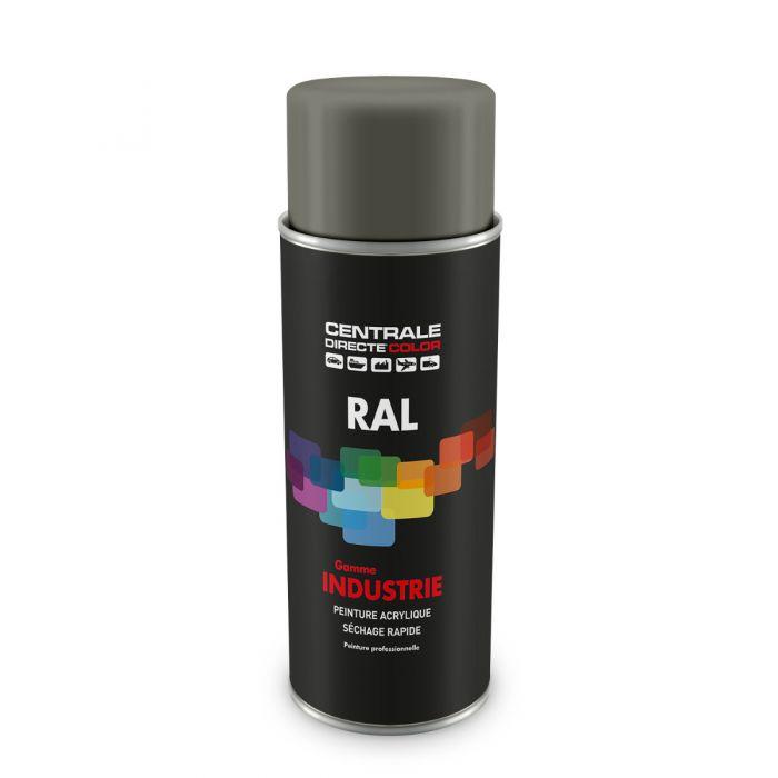 Peinture en spray RAL 7023 Gris béton Brillant CDCRAL7023B