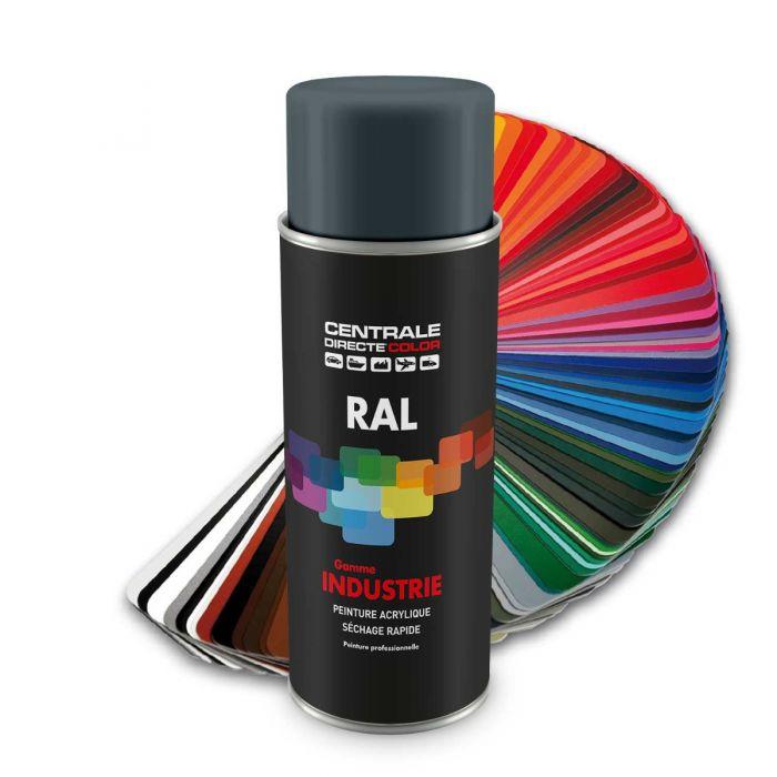 Peinture en spray RAL 7031 Gris bleu Brillant CDCRAL7031B