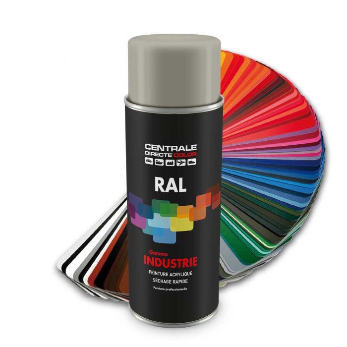 Peinture en spray RAL 7044 Gris soie Brillant CDCRAL7044B
