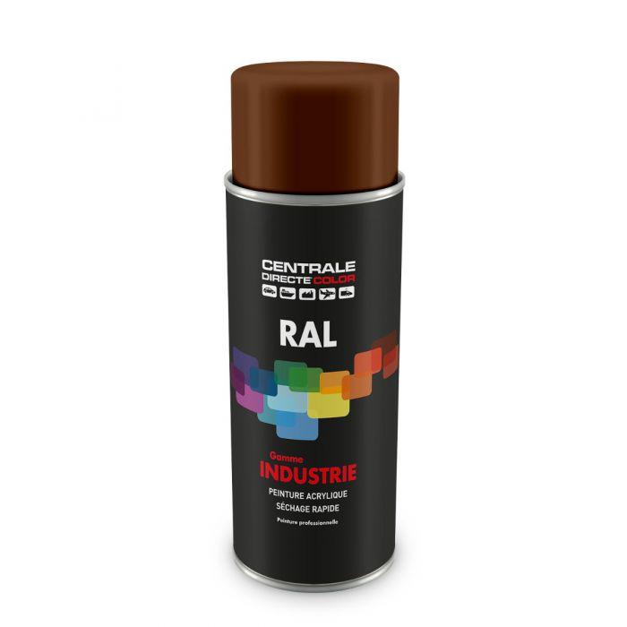 Peinture en spray RAL 8007 Brunfauve Brillant CDCRAL8007B