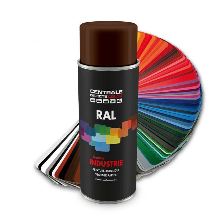 Peinture en spray RAL 8011 Brun noisette Brillant CDCRAL8011B